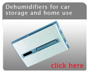Dehumidifiers for car storage and home use