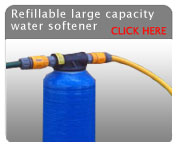 Refillable Long Life Water Filter System