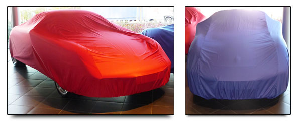 Standard and  Semi-Custom Porsche Soft indoor covers