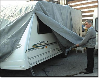 Caravan Covers - Breathable and Water Resistant Caravan Covers for all sizes of caravan