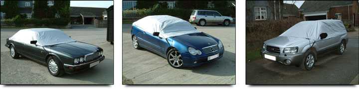 Waterproof Car Half or Top Covers
