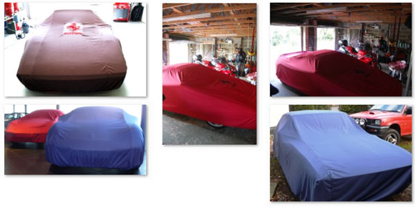 Custom made Peachskin car covers